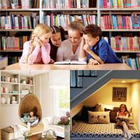Как создать детский уголок для чтения?